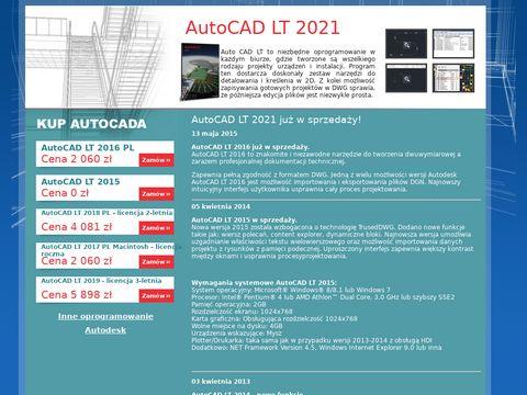 Zamów Autocad LT