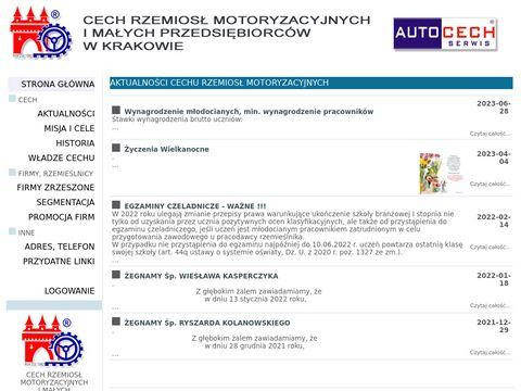 Cech Rzemiosł Motoryzacyjnych w Krakowie
