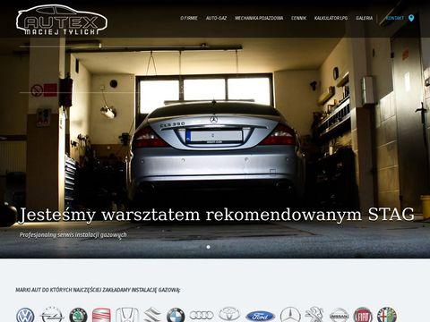 AUTEX Maciej Tylicki - AUTO GAZ LPG M艁AWA