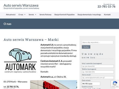 AUTOMARK S.A. badania techniczne marki