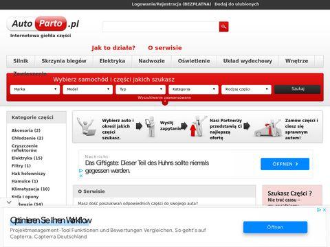 AutoParto.pl - sprzedaż używanych części