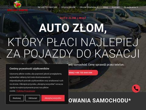 Z艂omowanie aut Bytom auto z艂om B臋dzin kasacja aut Gliwice