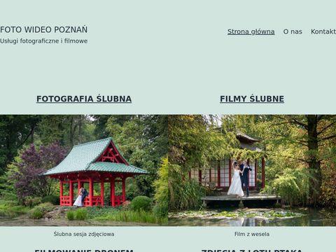 Wideofilmowanie i fotografia - Poznań