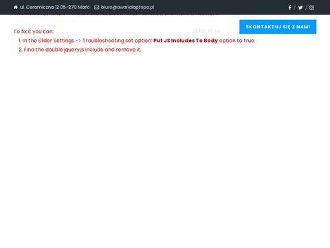 Naprawa laptop贸w Warszawa