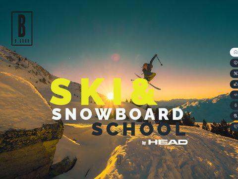 Szko艂a narciarska Ustro艅