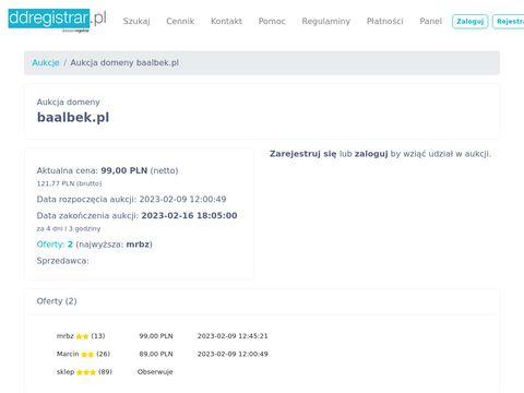 Restauracja Baalbek - najlepszy kebab w Bydgoszczy