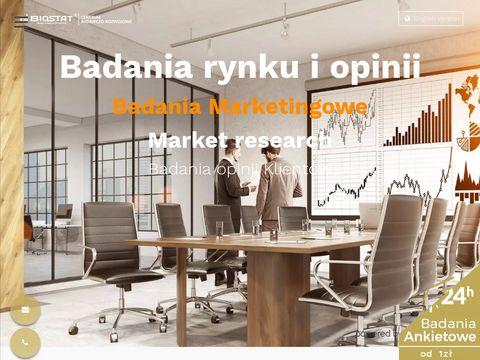 Badania rynkowe i analizy rynku dla biznesu