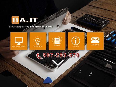Bajt 鈥� Serwis komputerowy w Mor膮gu