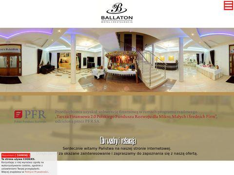 BALLATON domy weselne pod Radomiem