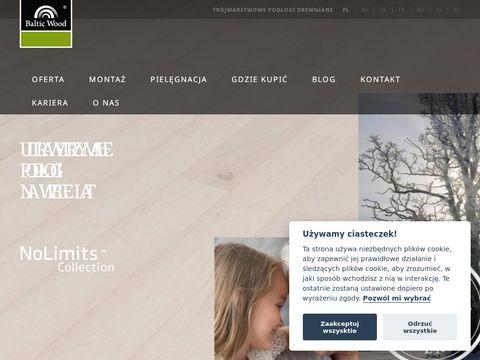 Baltic Wood - drewniana podłoga