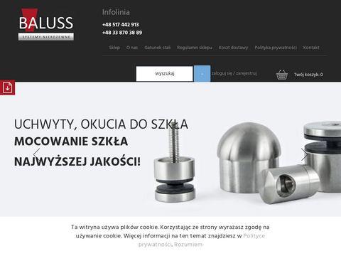 Baluss.pl: Okucia do szk艂a