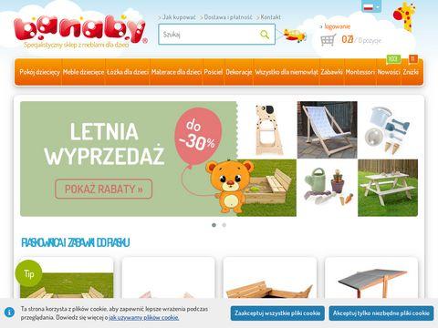Banaby - meble dla dzieci
