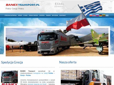 Przewóz towarów do Grecji