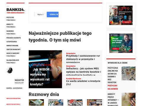 Banki24.com.pl kredyty i po偶yczki