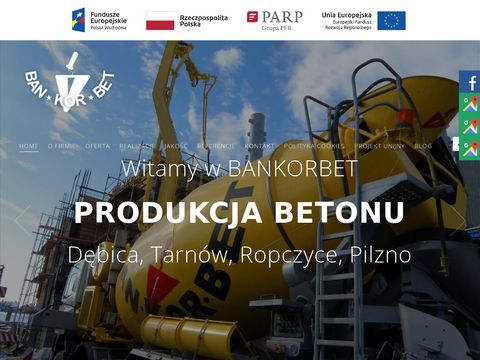 BAN-KOR-BET BANIA KORGA SP.J. produkcja betonu tarnów