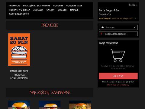 Www.bartsburger.pl burger warszawa