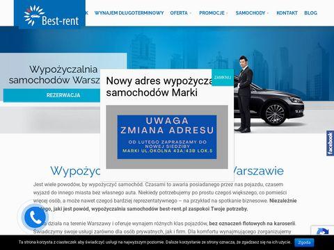 Wypo偶yczalnia samochod贸w Best-Rent
