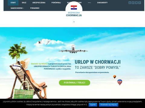 Wyjazd i ubezpieczenie do Chorwacji