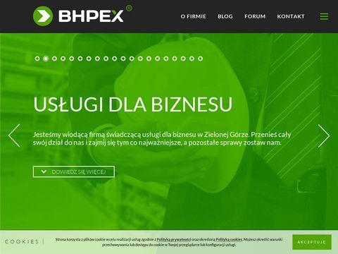 Instrukcje BHP - BHPEX