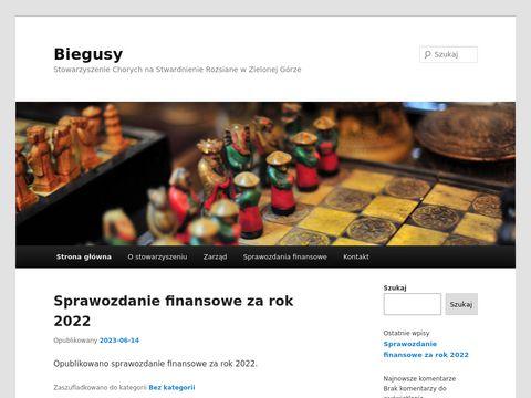 Biegusy - Stowarzyszenie Chorych na SM