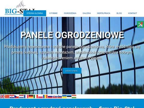 BIG-STAL S. BIGOS słupki ogrodzeniowe