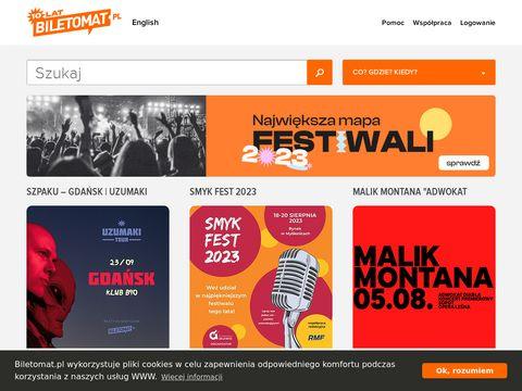 Biletomat.pl - sprzedaż biletów online na wydarzenia kulturalne