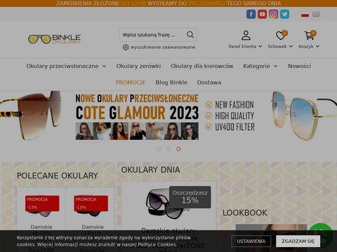 Binkle.pl - okulary przeciws艂oneczne polaryzacyjne