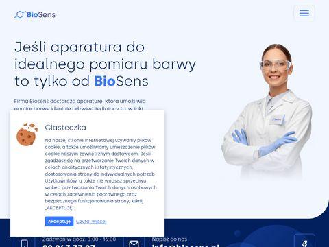 Biosens-wyposażenie laboratoriów.