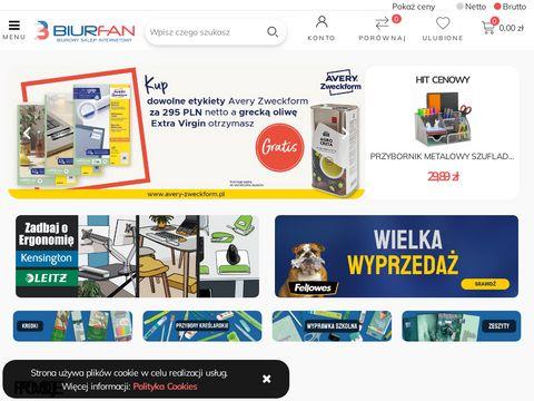 Hurtownia artykułów biurowych i papierniczych | Biurfan.pl