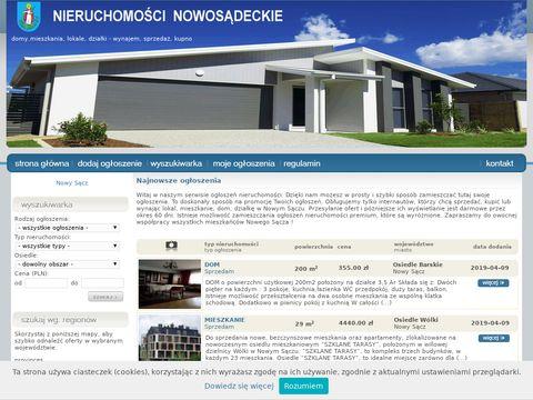 Mieszkania Nowy SÄ…cz