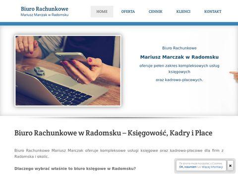 Rzetelna ksi臋gowo艣膰, solidne biuro rachunkowe w Radomsku: Mariusz Marczak