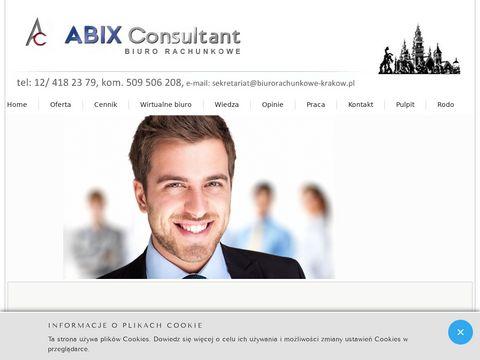 Abix Consultant Biuro Rachunkowe Krakow