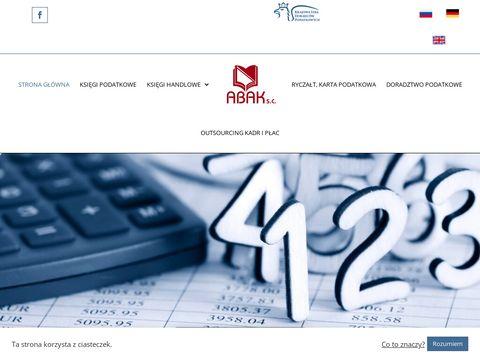BIURO RACHUNKOWO-KONSULTACYJNE ABAK S.C. biura rachunkowe 艂贸d藕