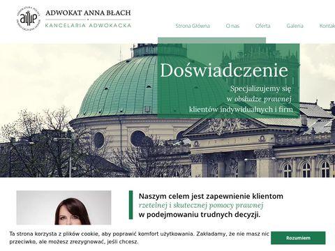 Kancelaria Adwokacka Adwokat Anna BÅ'ach