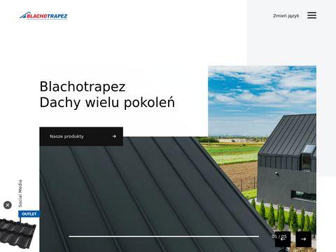 Blachotrapez Sp. z o.o. - Producent blach i pokryć dachowych