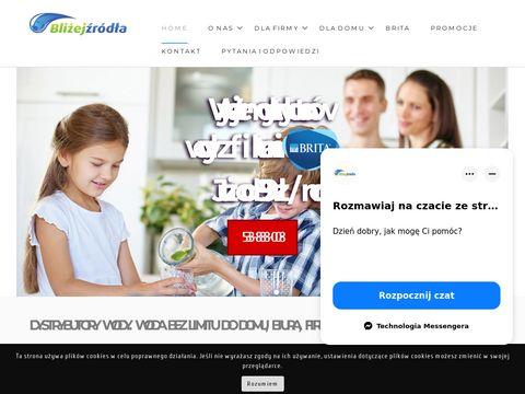 Dystrybutory wody Warszawa - BliżejŹródła