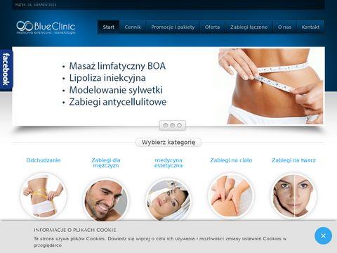 Blueclinic.pl - uj臋drnianie zabiegi