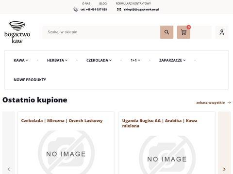 Sklep internetowy z kawÄ… | Bogactwokaw.pl