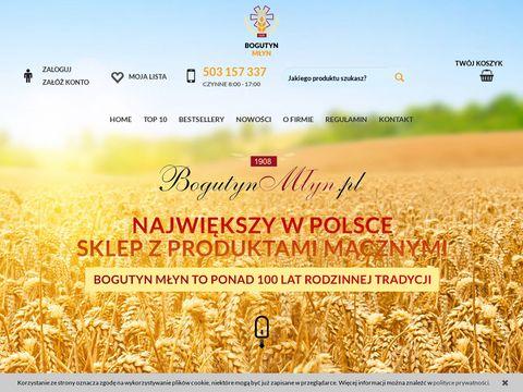 Sklep www.BogutynMlyn.pl (wysyłka cała UE) poleca