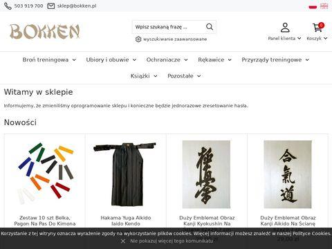 SKLEP BOKKEN - akcesoria do sztuk walki.