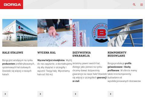 BORGA SP. Z O.O. GDYNIA budynki przemysłowe