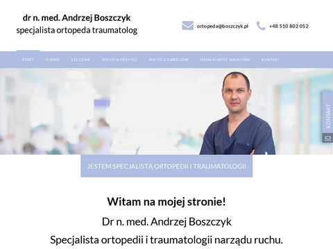 Ortopeda Andrzej Boszczyk