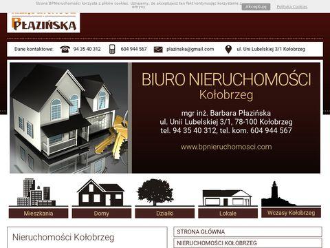 Bpnieruchomosci.com - Nieruchomości Płazińska