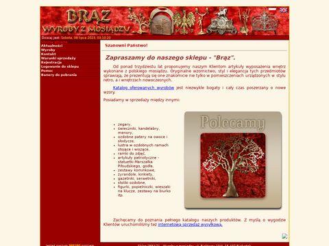 "BRÄ""Z - wyroby z mosiÄ…dzu"