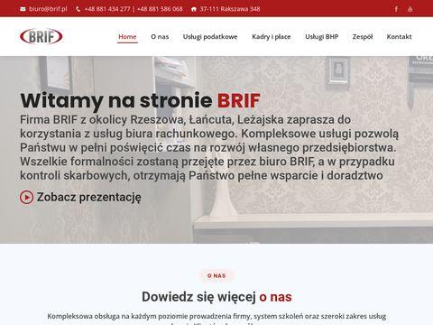 Biuro rachunkowe Brif