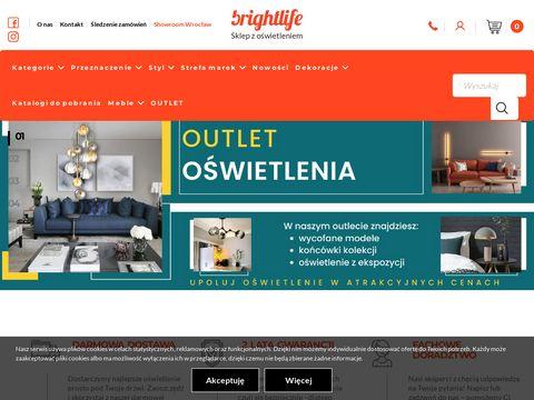 Lampy Wrocław Kinkiety �azienkowe Brightlife