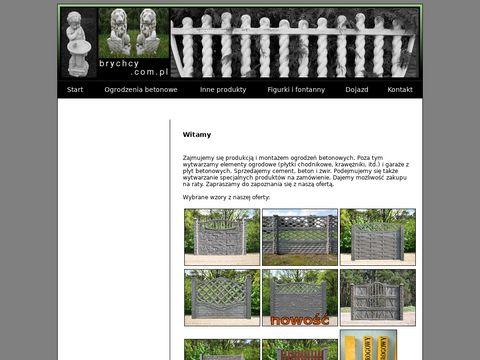 Ogrodzenia Betonowe Brychcy