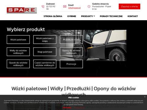 Opony do wózków widłowych firmy BTH
