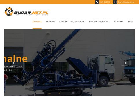 Wiercenie studni głębinowych - Budar Wrocław