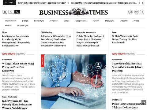 Portal Biznesowy Business Times